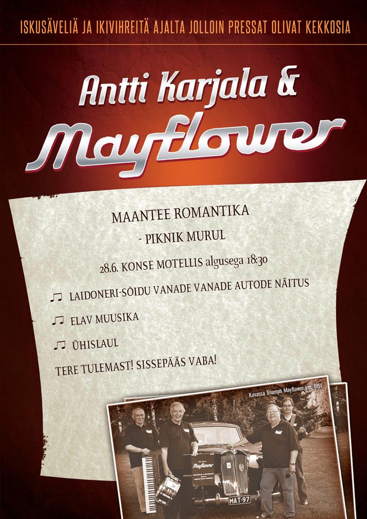 Antti Karjala & Mayflower kontsert